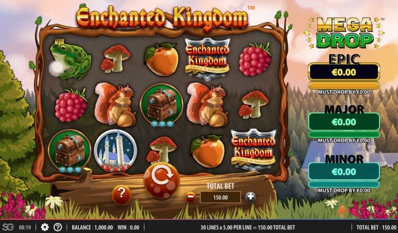 Enchanted Kingdom :: Main Game Board