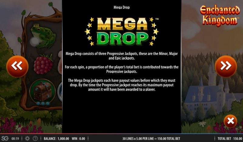 Enchanted Kingdom :: Mega Drop Rules