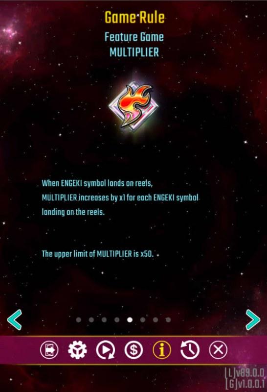 Engeki Rising x50 :: Multiplier Feature