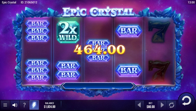 Epic Crystal :: Multiple winning paylines