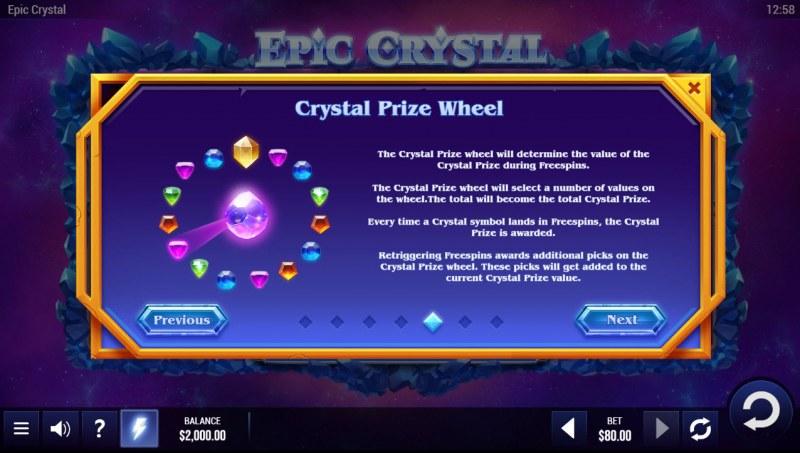 Epic Crystal :: Crystal Prize Wheel