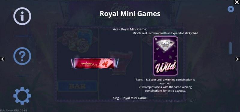 Epic Riches :: Royal Mini Games
