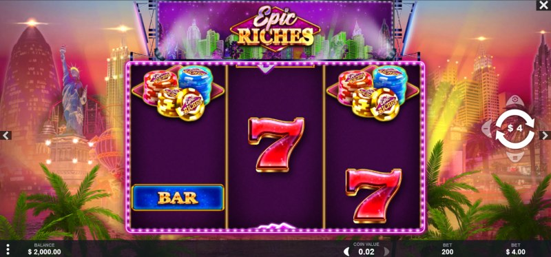Epic Riches :: Main Game Board