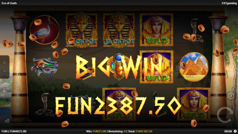 Era of Gods :: Total free spins payout