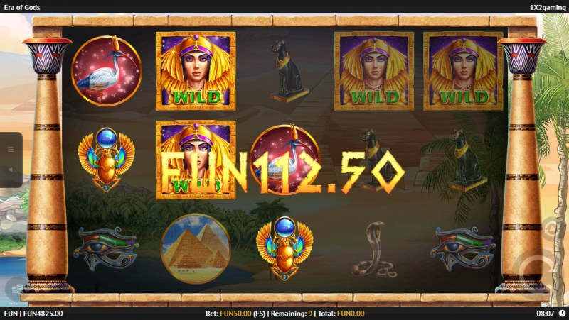 Era of Gods :: Free Spins Game Board
