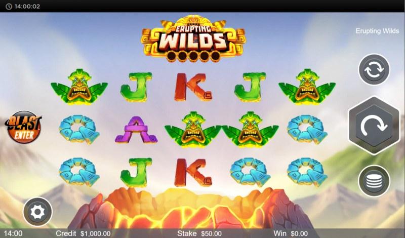 Erupting Wilds :: Base Game Screen