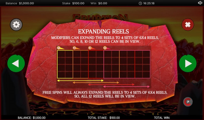 Eruption :: Expanding Reels