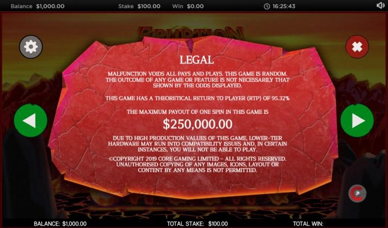 Eruption :: General Game Rules