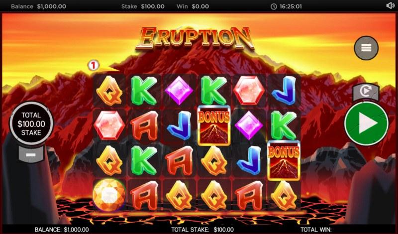 Eruption :: Main Game Board