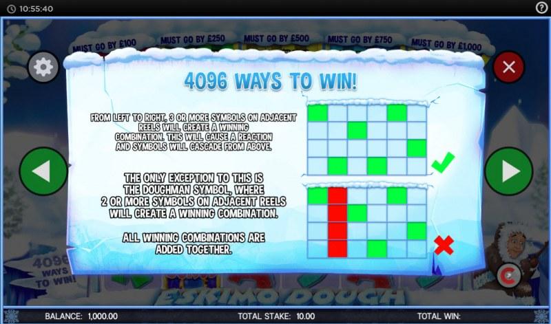 Eskimo Dough :: 4096 Ways to Win