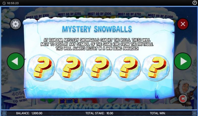 Eskimo Dough :: Mystery Snowballs