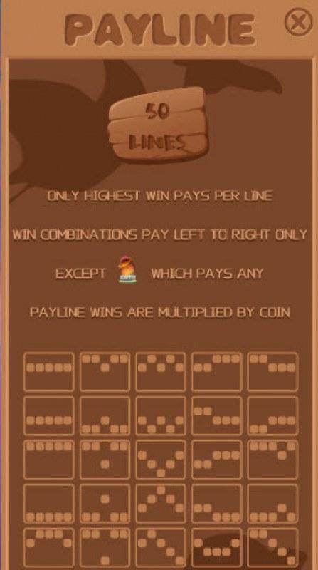 Eternal Dino :: Paylines 1-50