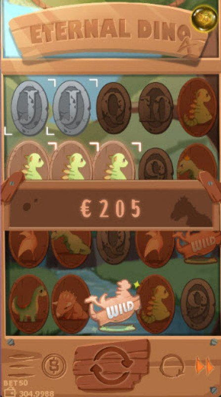 Eternal Dino :: Multiple winning paylines