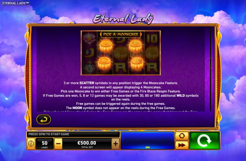 Eternal Lady :: Mooncake Feature