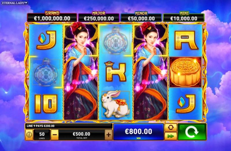 Eternal Lady :: Multiple winning combinations