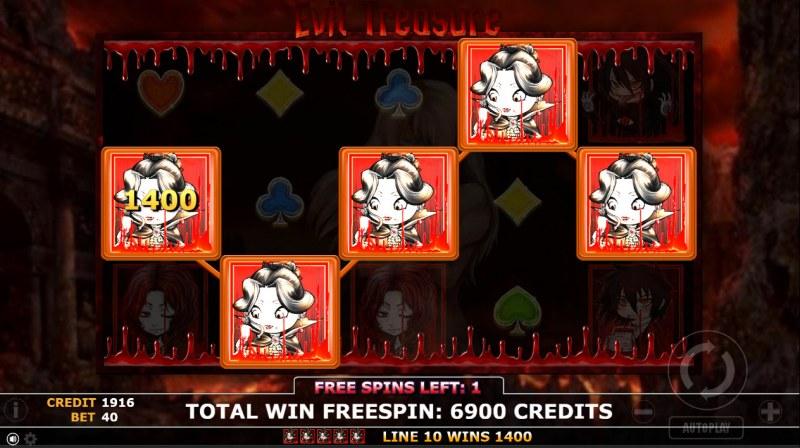 Evil Treasure :: Five of a kind