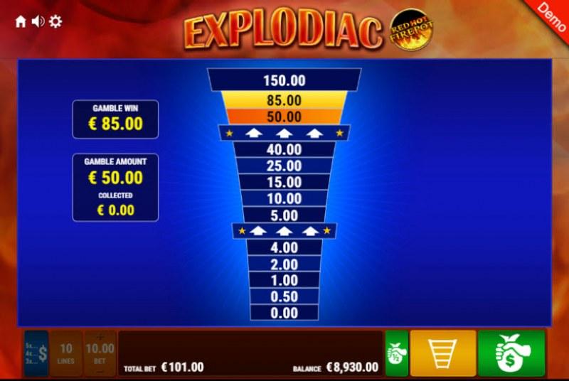 Explodiac Red Hot Firepot :: Ladder Gamble Feature