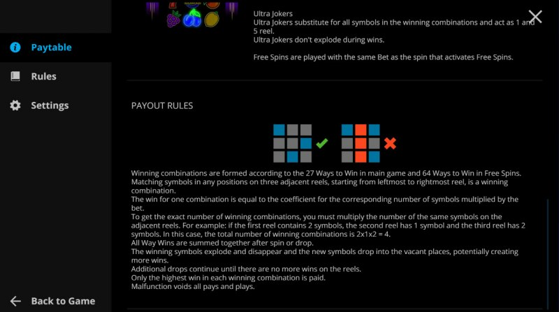 Exploding Fruits :: General Game Rules