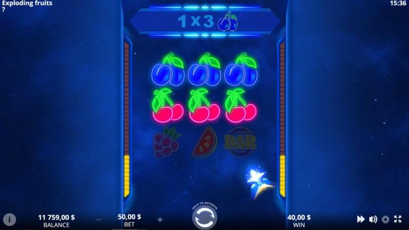 Exploding Fruits :: Energy Bars