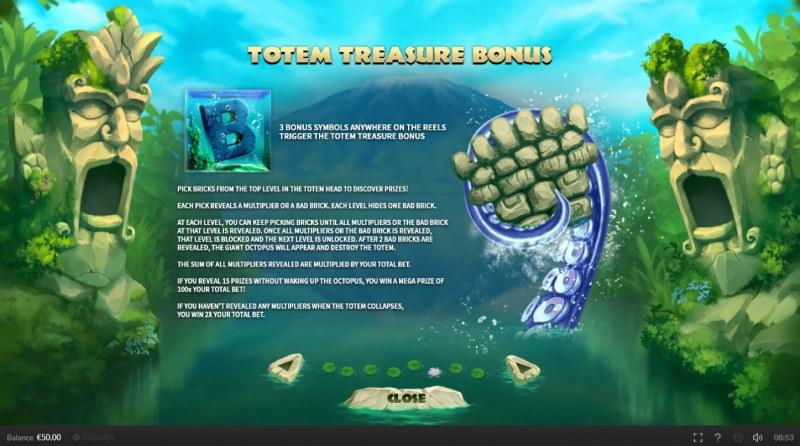 Explosion :: Totem Treasure Bonus