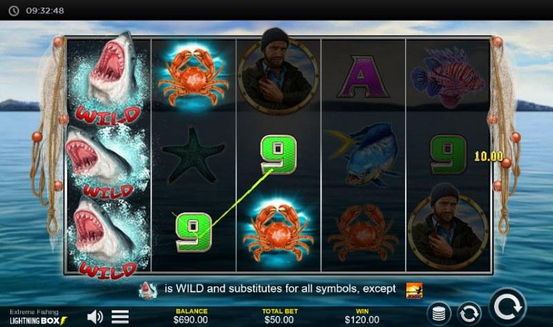 Extreme Fishing :: Multiple winning paylines