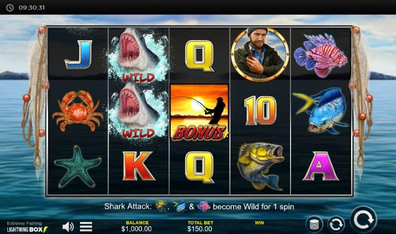 Extreme Fishing :: Main Game Board