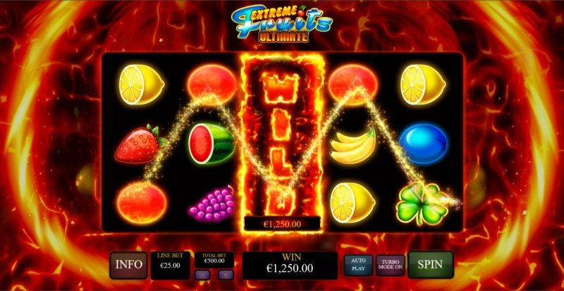 Extreme Fruits Ultimate :: A four of a kind win