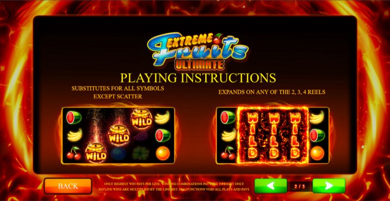 Extreme Fruits Ultimate :: General Game Rules