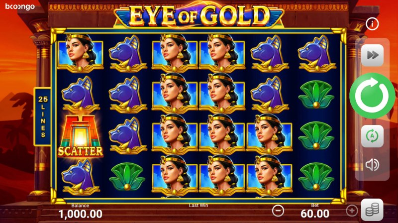 Eye of Gold :: Main Game Board