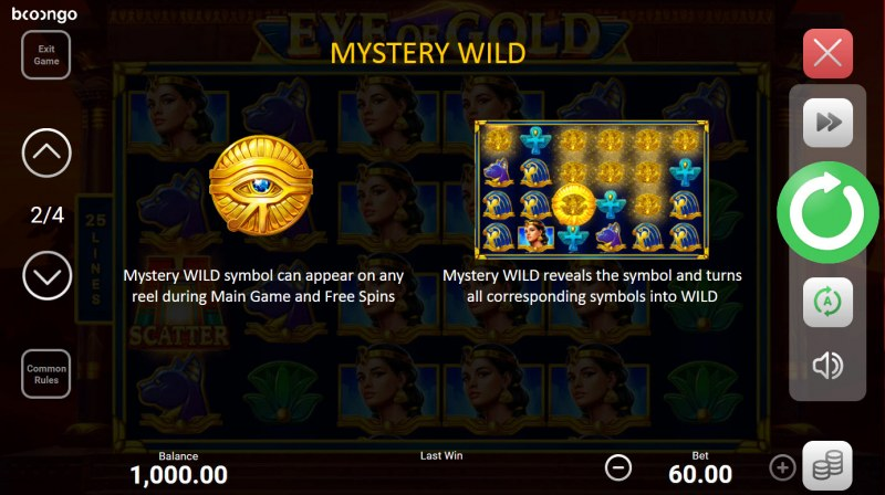 Eye of Gold :: Mystery Wild