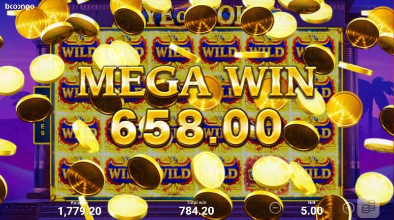 Eye of Gold :: Mega Win