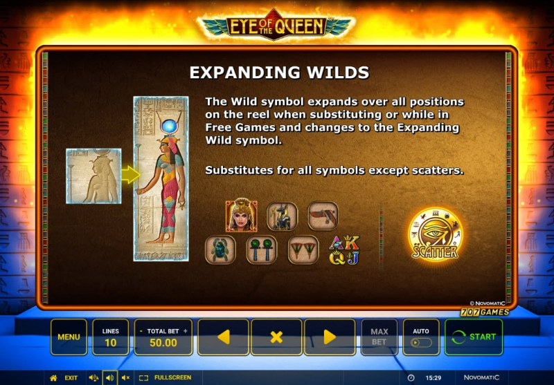 Eye of the Queen :: Expanding WIlds