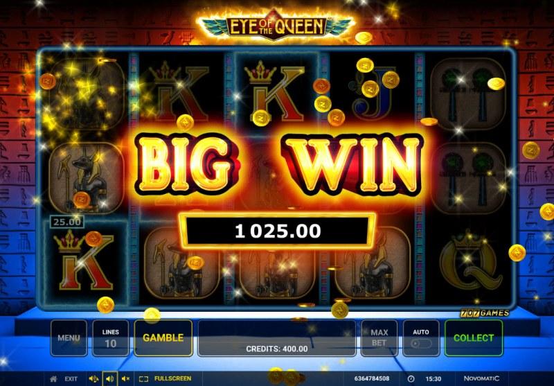 Eye of the Queen :: Big Win