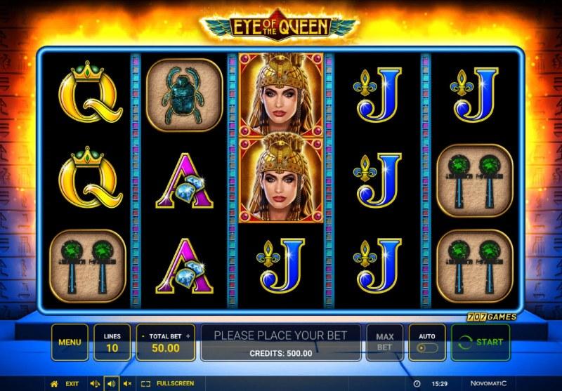 Eye of the Queen :: Base Game Screen