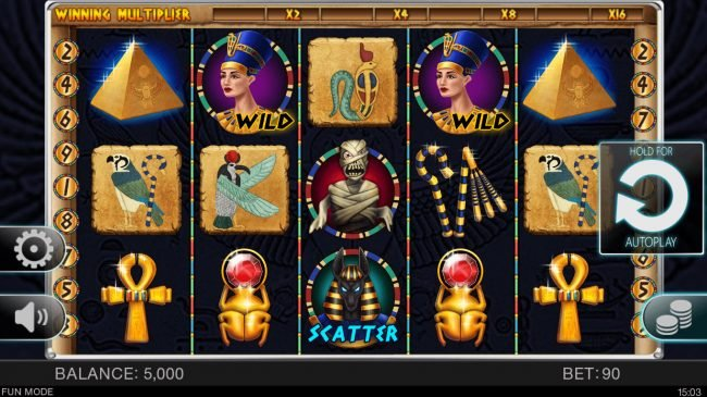 Play slots at Lucky Bird: Lucky Bird featuring the Video Slots Egyptian Adventure with a maximum payout of $40,000