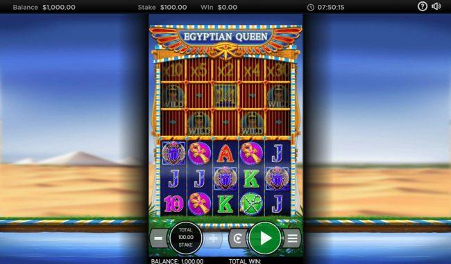 Egyptian Queen :: Main Game Board