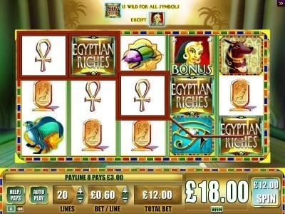 Play slots at Yako Casino: Yako Casino featuring the Video Slots Egyptian Riches with a maximum payout of $250,000