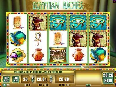 Egyptian Riches :: 3 Eyes