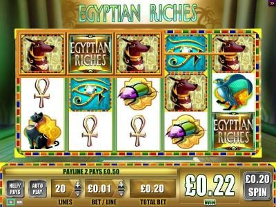 Egyptian Riches :: Spinning