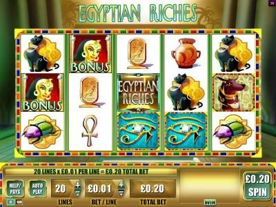 Egyptian Riches :: Near bonus