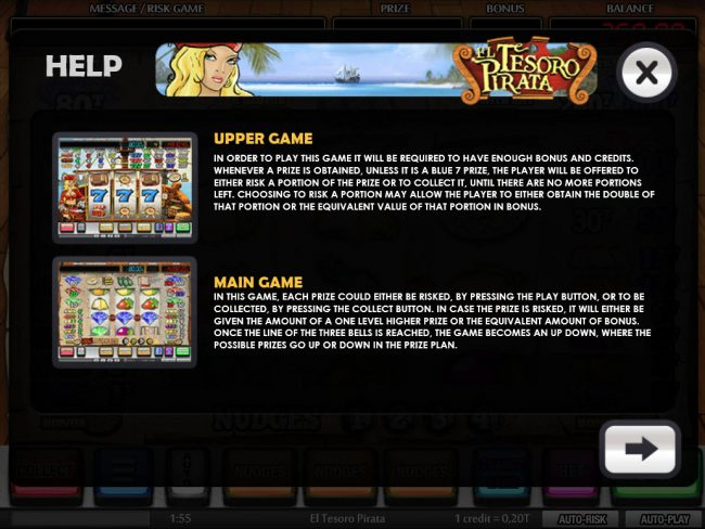 Upper Game and Main Game Rules