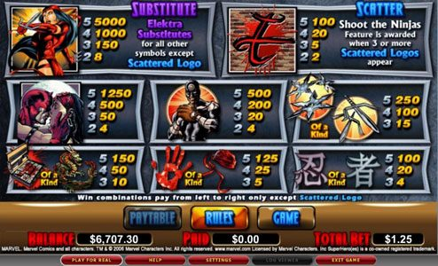 Bonanza featuring the video-Slots Elektra with a maximum payout of 5,000x