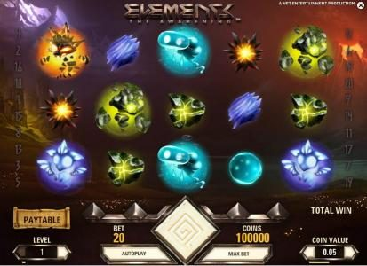 Rich Casino featuring the Video Slots Elements The Awakening with a maximum payout of $7,500