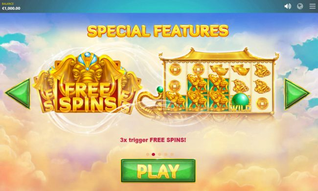 Jonny Jackpot featuring the Video Slots Elephant Treasure with a maximum payout of $30,000