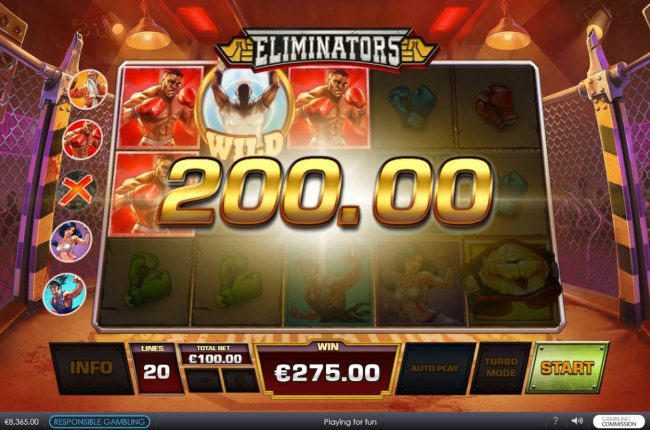 Grand Reef featuring the Video Slots Eliminators with a maximum payout of $62,500