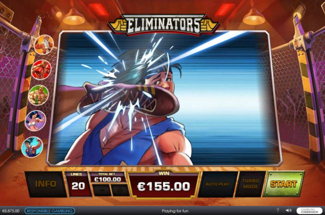 City Tower featuring the Video Slots Eliminators with a maximum payout of $62,500