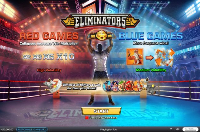 Play slots at Casino.DK: Casino.DK featuring the Video Slots Eliminators with a maximum payout of $62,500