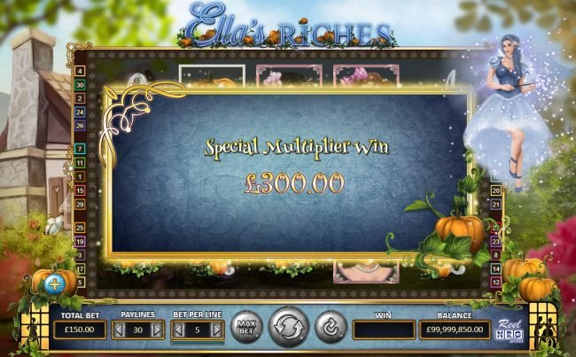 Ella's Riches :: Feature pays 300 credits