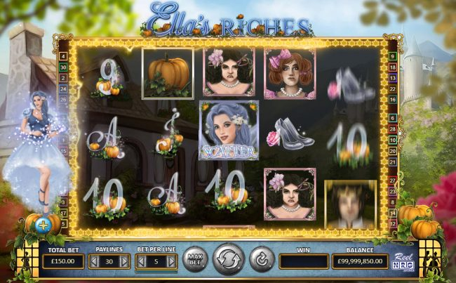 Ella's Riches :: Pumpkin feature triggered