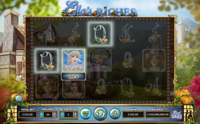 Ella's Riches :: A winning three of a kind
